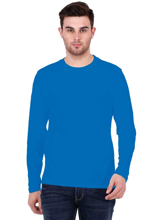 Personalised Mens Full Sleeve T-Shirt